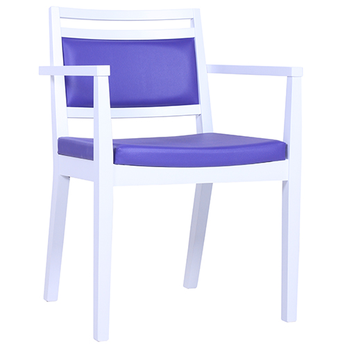 Dřevěné židle s loketní opěrkou