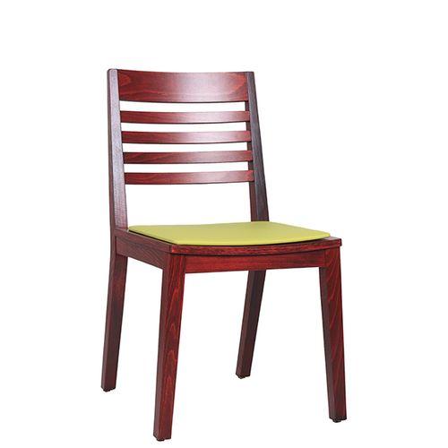 Židle FIN 4SP do restaurace čalouněný sedák