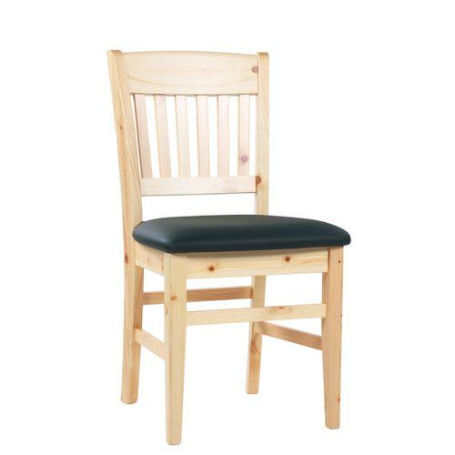 Dřevěné židle BEN P čalouněný sedák