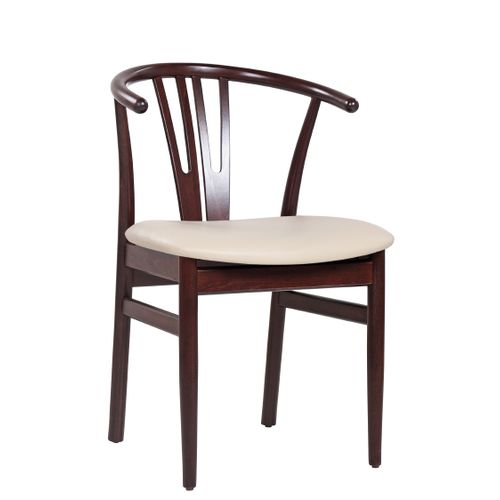 Restaurační židle ROMEO čalouněný sedák