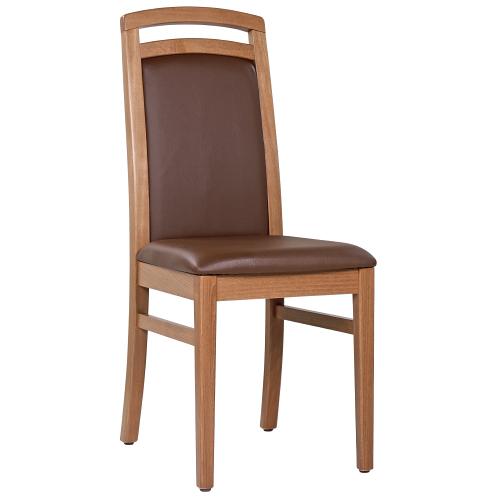 Drevené stoličky čalúnený sedák pro reštaurácie