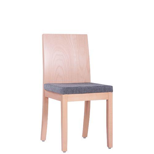 Dřevěná židle čalouněná TADEO