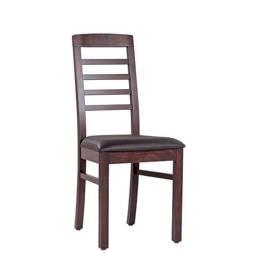 Dřevěná židle čalouněná BIANCA P