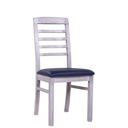 Borovicové židle  BIANCA P v úpravě Vintage bílá
