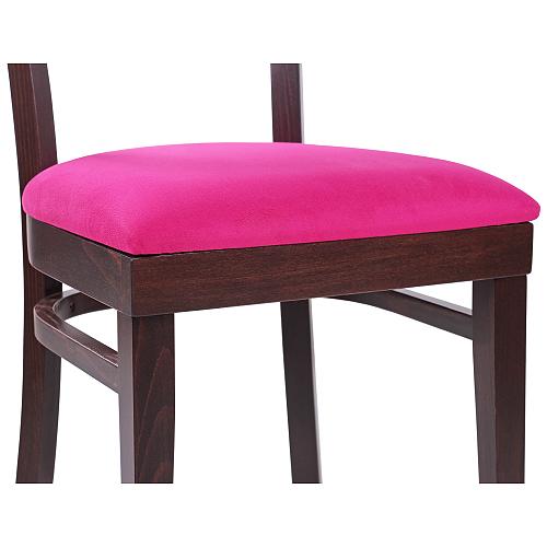 Drevené stoličky ohýbané čalúnený sedák do reštaurácie