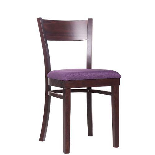Dřevěné do restaurace židle KLASIK 98 P čalouněný sedák
