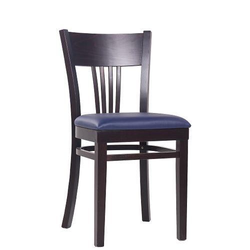 Dřevěné židle do restaurace KLASIK 984 P čalouněný sedák