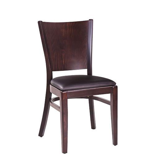 Dřevěné čalouněné židle FAGO P pro restaurace