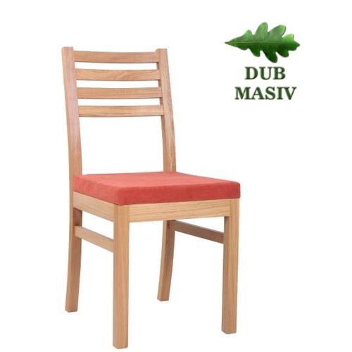 Restaurační čalouněné židle ARMANDO PE dub masiv
