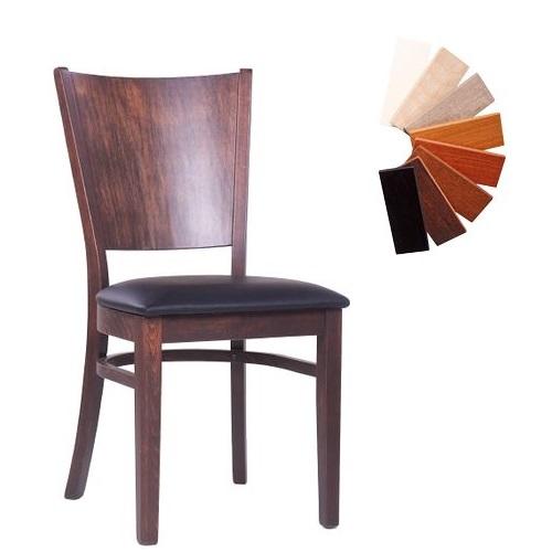Dřevěné židle FAGO P MC více barev vhodné pro restaurace