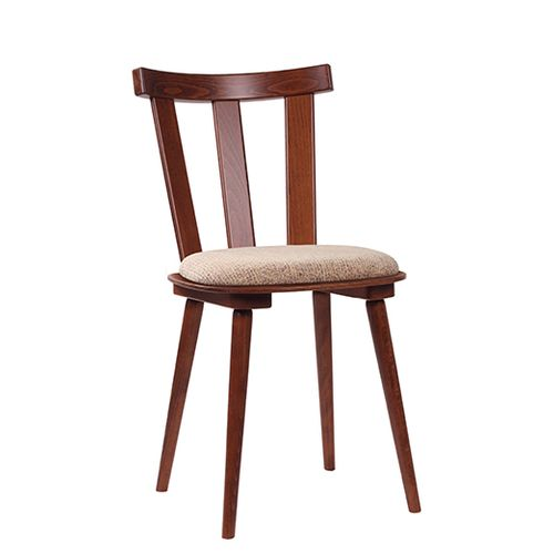Dřevěné židle BENI 3P čalouněný sedák