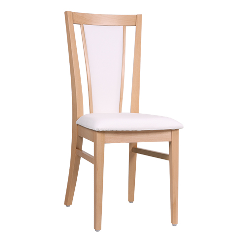 Drevené čalúnené stoličky