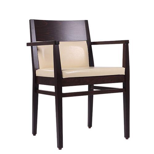 Dřevěná židle čalouněná LAURETTA AL