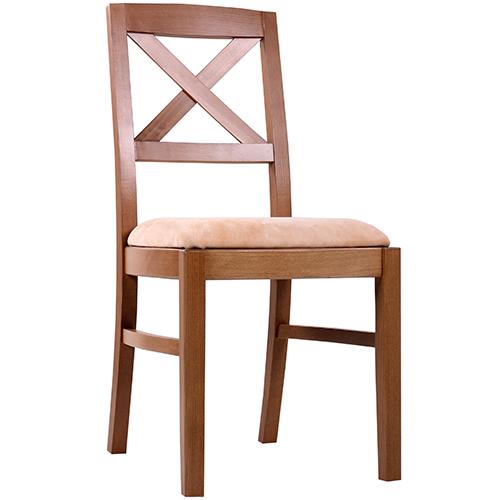 Dřevěné židle do restaurace čalouněné
