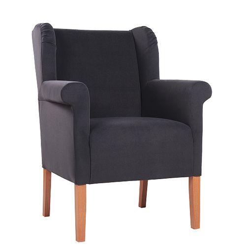 Čalouněná křesla CLEA XL s rozšířeným sedákem