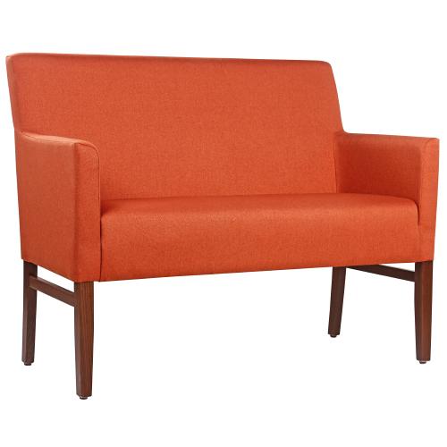 čalouiněné lavice a dvoukřesla