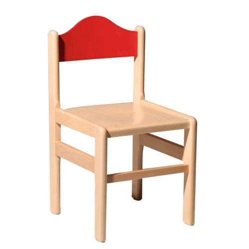 Dětské dřevěné židle do školky