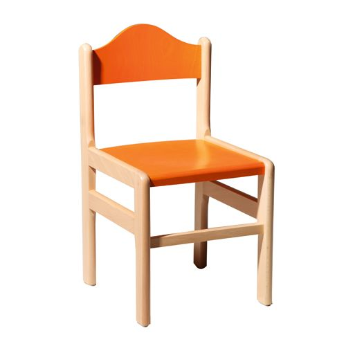 Detské drevené stoličky