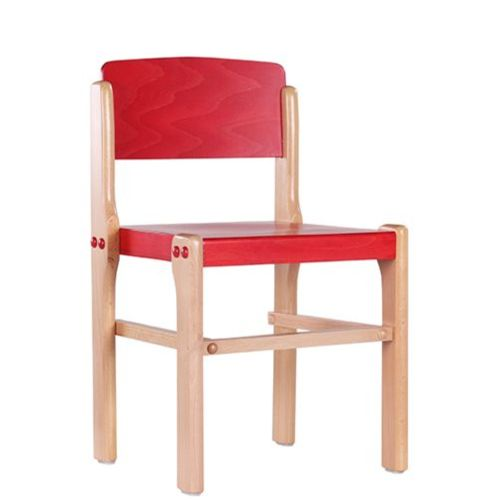 Dětské dřevěné stohovatelné židle D2 různé výšky a barvy