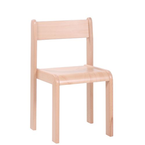 bebe8ccda9d4 Detské drevené stohovateľné stoličky D4 s krempou