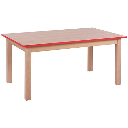 Dětské dřevěné stoly KOMBI HR obdélník (více rozměrů)