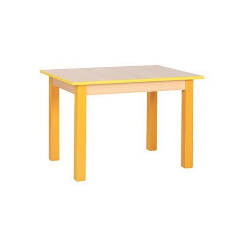 Dětské dřevěné hranaté stoly KOMBI HR (více rozměrů)