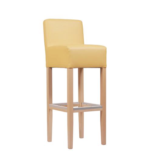 Dřevěná barová židle FABIO RL