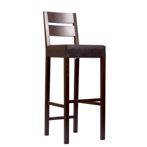 Dřevěná barová židle SCARLA BAR