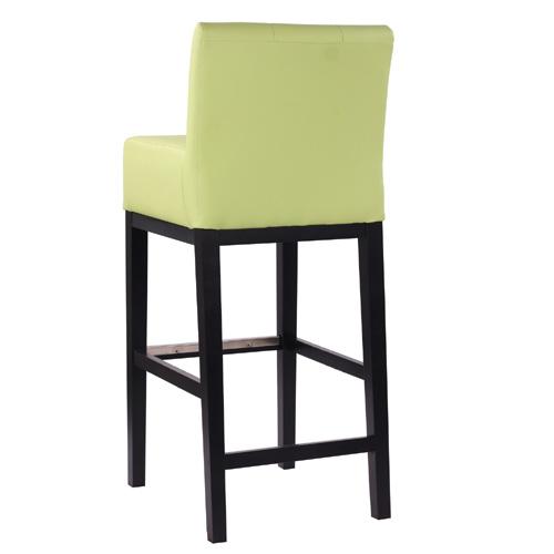 Barové židle s čalouněnou opěrkou i sedákem