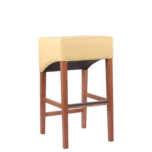 Dřevěné barové židle MODERNA