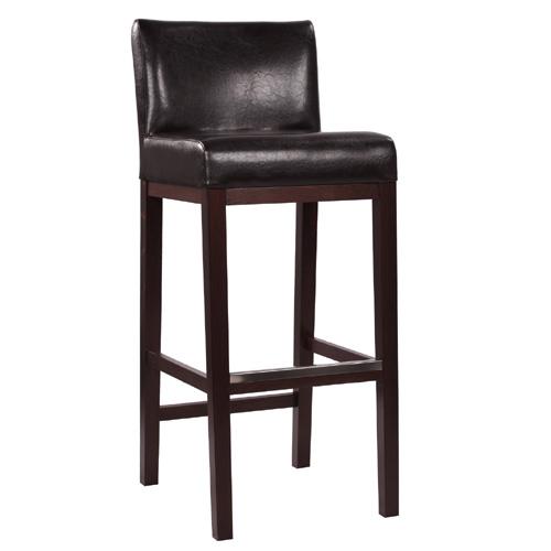 Čalouně barové židle s opěradlem