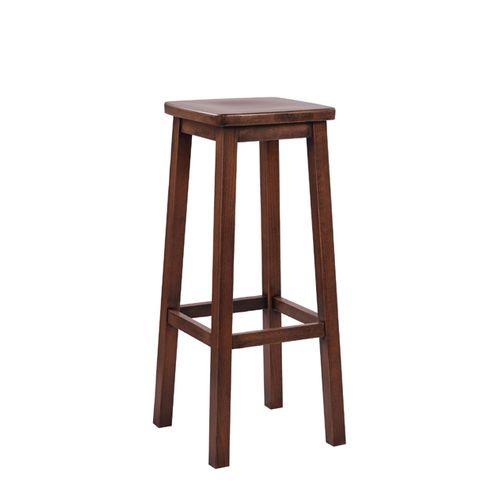 Dřevěná barová židle LOKI