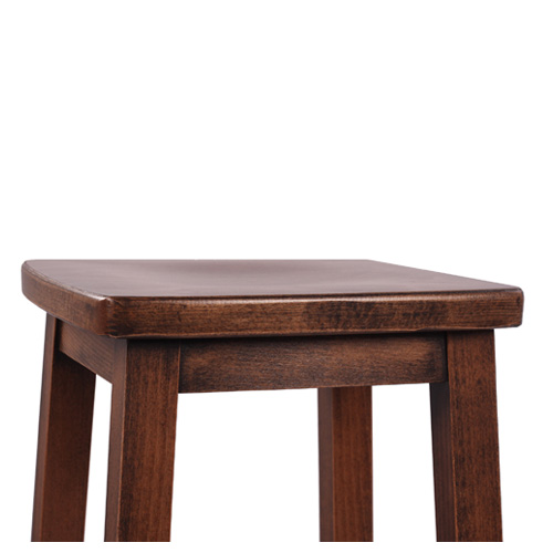 Dřevěná barová židle do restaurace