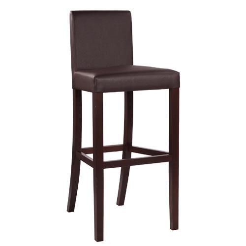 Čalouněné baerové židle dřevěná opěrka