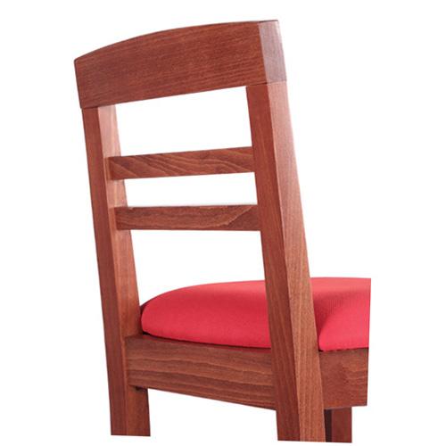 Masivní barové židle s čalouněním
