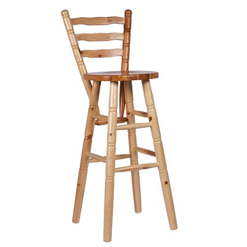 Dřevěná barová židle TIM RL