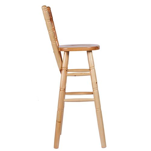 Barové židle borovicové