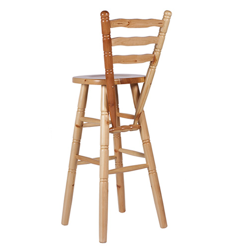 Barové židle z borovice