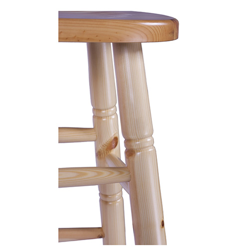 Barové židle masivné borovice