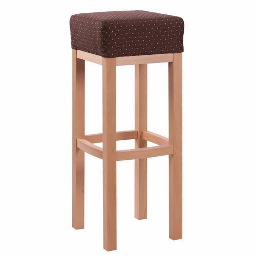 Dřevěné čalouněné batrové židle