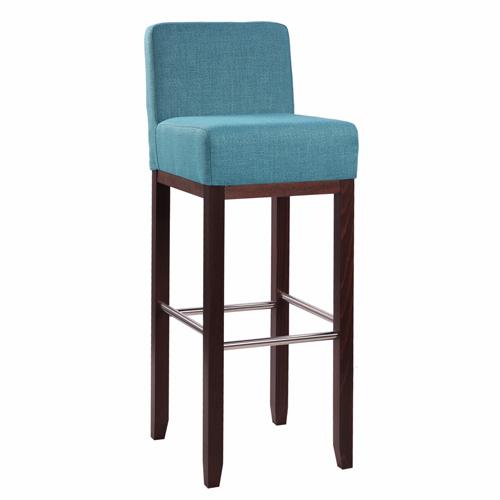 Dřevěná barová židle ALBERTO RL IX