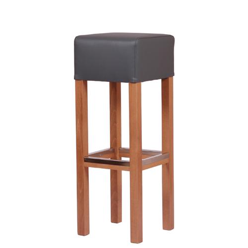 Dřevěná barová židle FABIO