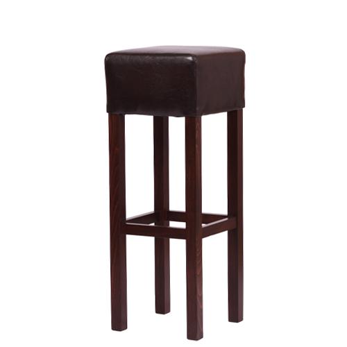Levné barové dřevěné židle čalouněné