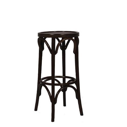 Dřevěná barová židle CLASSICO B70