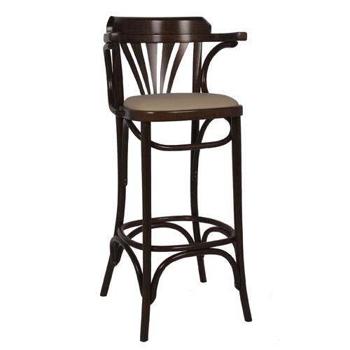 Dřevěná barová židle CLASSICO B90P