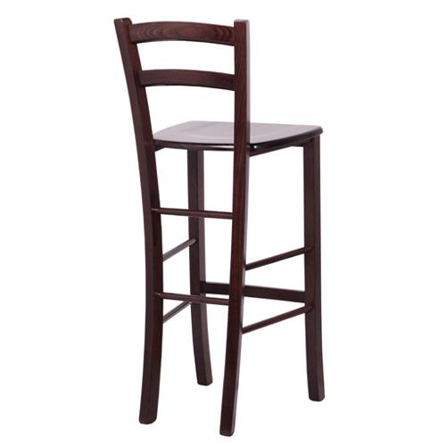 Masivní dřevěné barové židle