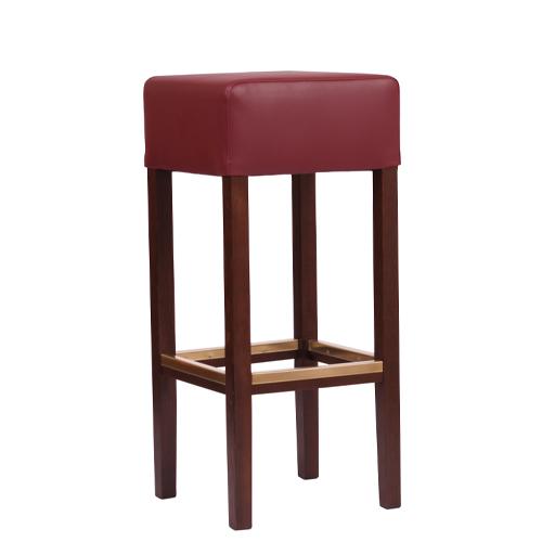 Dřevěná barová židle FABIO XL