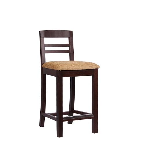 Dřevěná barová židle BIANCA BAR TH