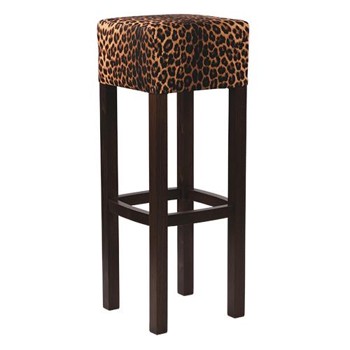 Čalouněná dřevěná židle