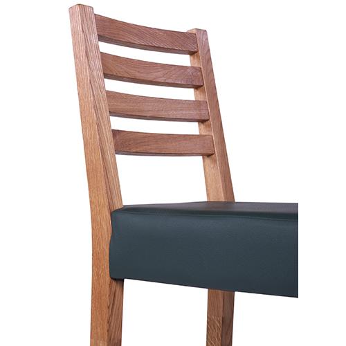 Dubové barové stoličky